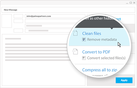 Securely share documents