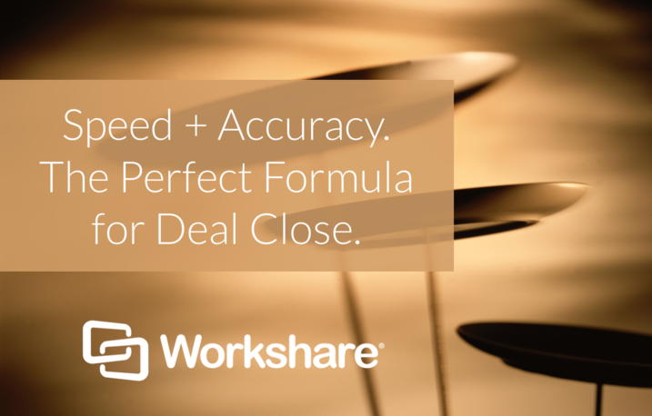 Speed + Accuracy. The Perfect Formula for Deal Close