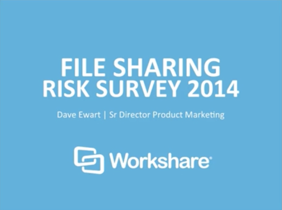 Risk Revealed: How to safely share your work