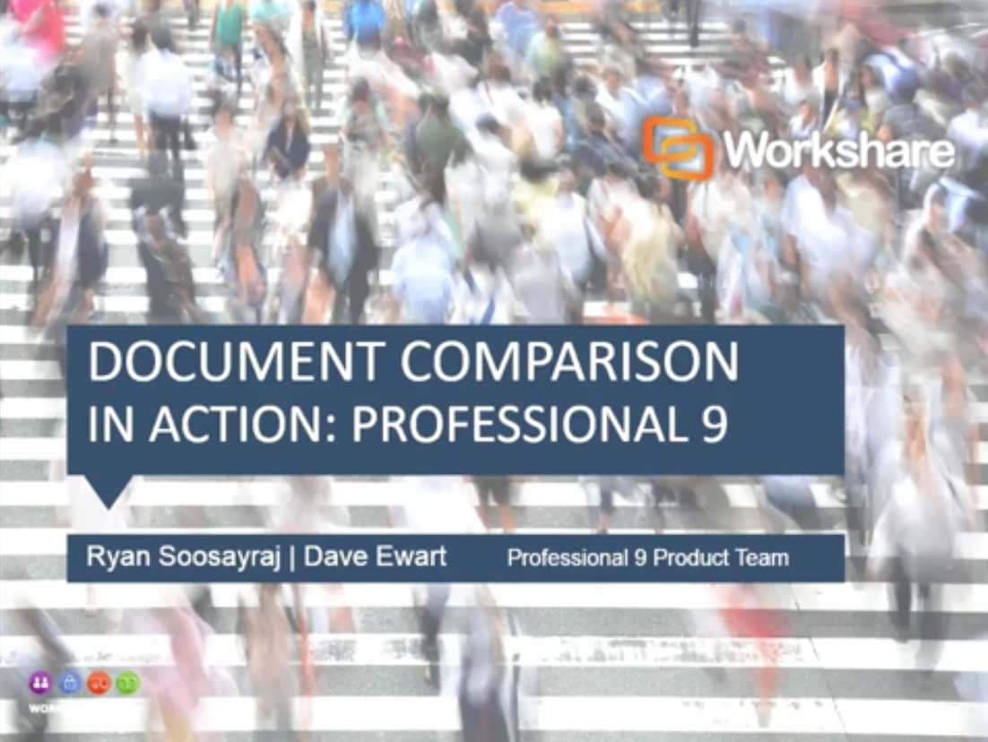 Document Comparison in Action with Professional 9