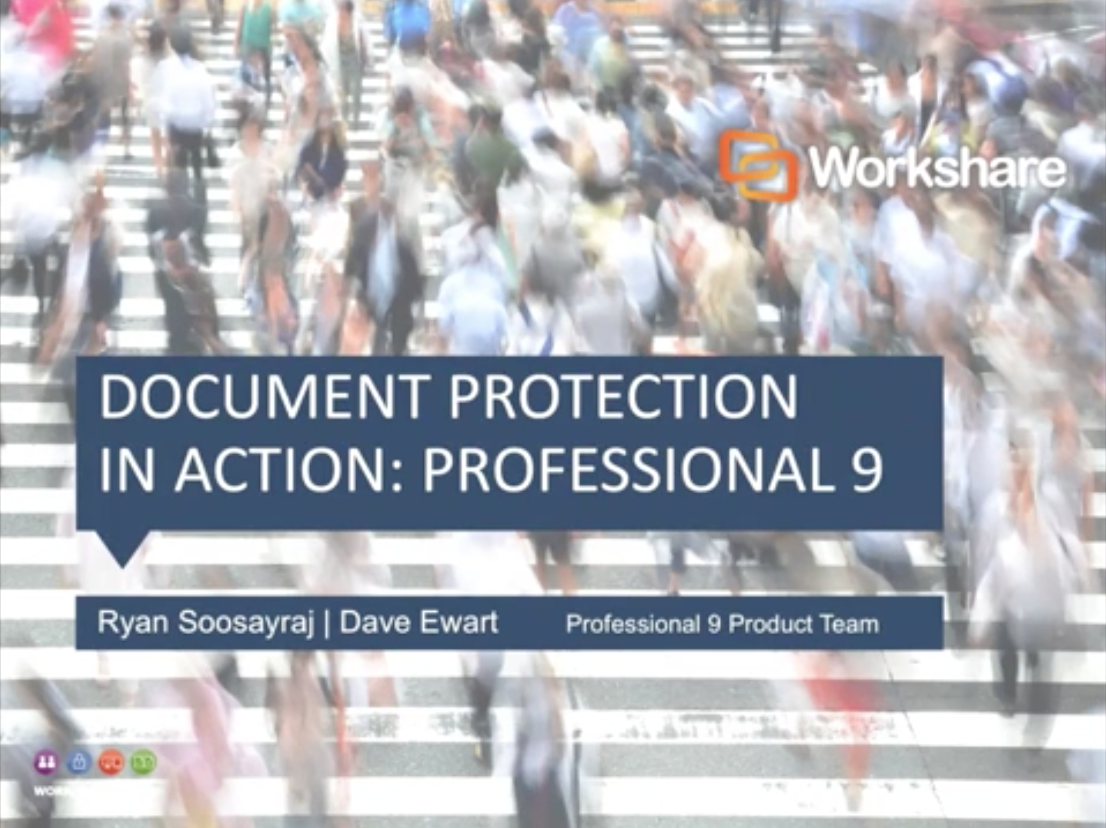 Document Protection in Action with Professional 9