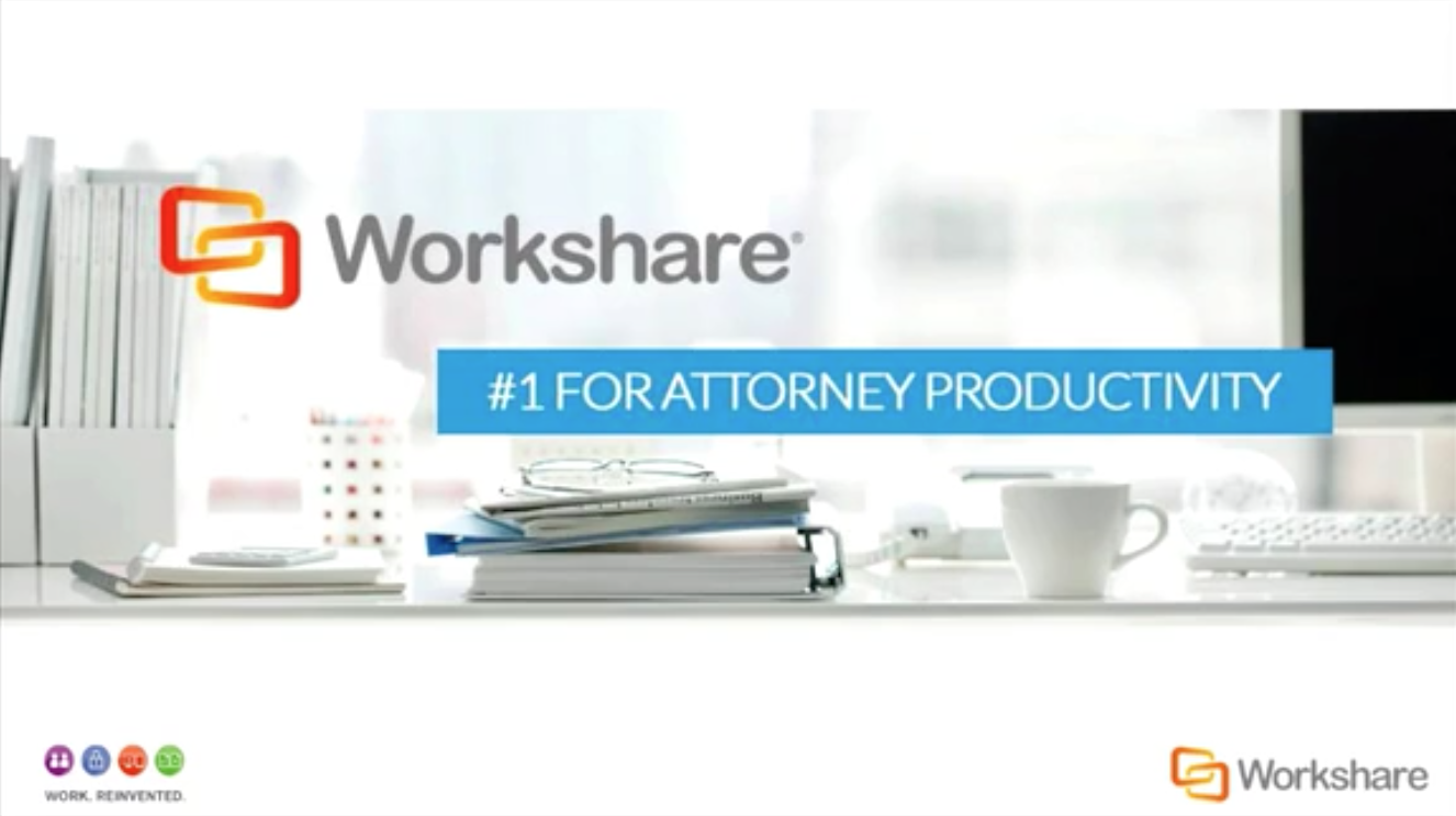 Workshare 9 - #1 for Attorney Productivity