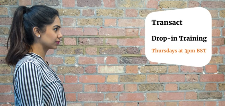 Workshare Transact: Drop-in training sessions