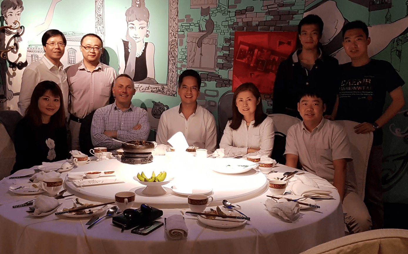 Dinner in China Workshare