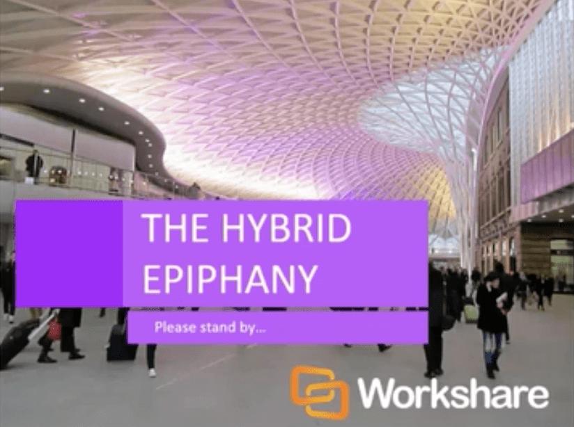 Three Key Drivers & The Hybrid Epiphany
