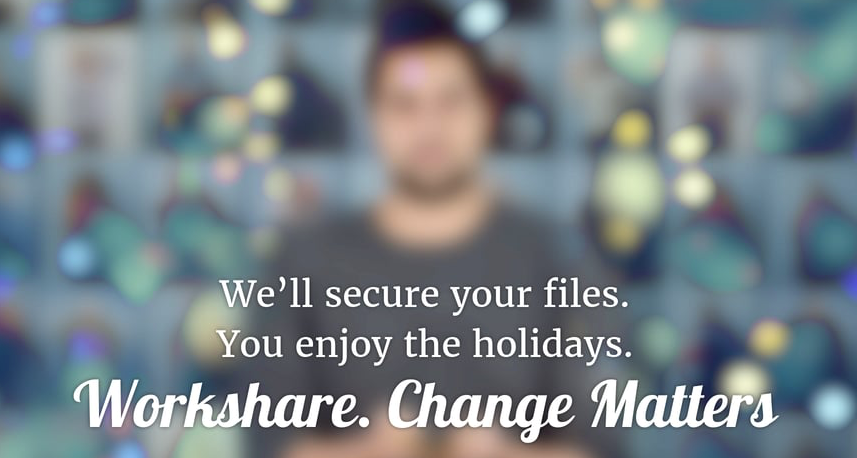 Workshare Secure #ChristmasMatters