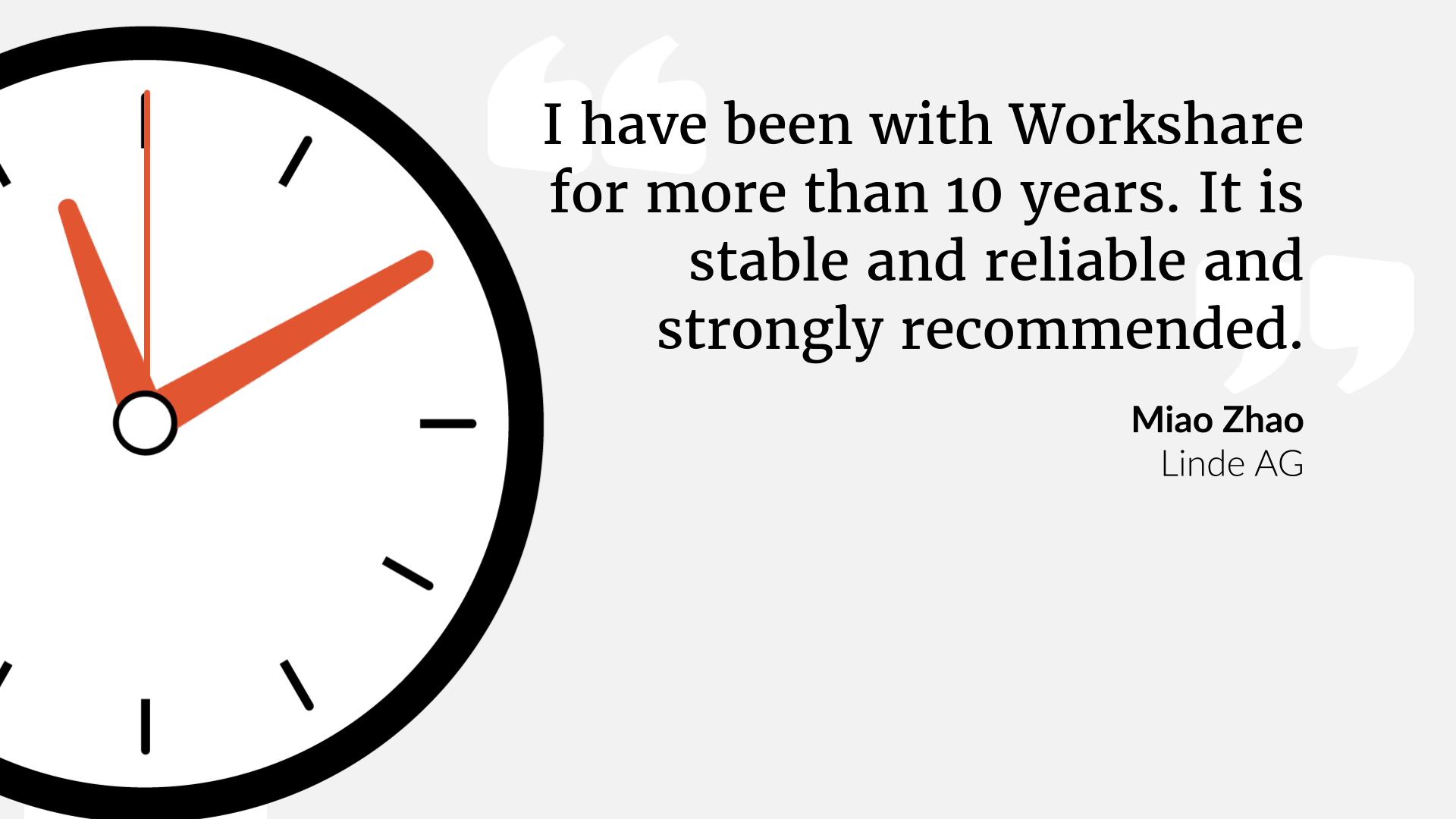 Workshare Customer Advocacy