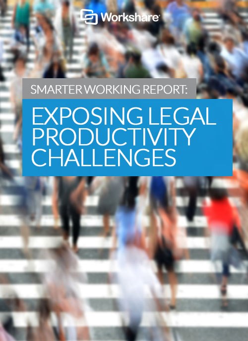 Smarter Working Report: Exposing Legal Productivity Challenges