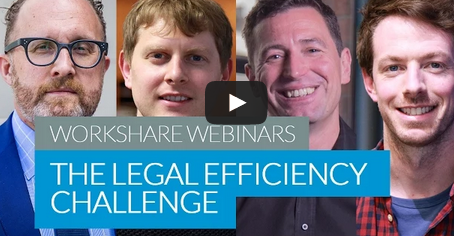 The Legal Productivity Challenge Webinar